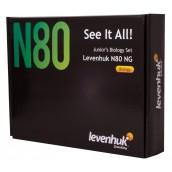 """Купить Набор готовых микропрепаратов Levenhuk N80 NG """"Увидеть все!"""""""