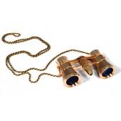 Купить Бинокль Levenhuk (Левенгук) Broadway 325F с подсветкой и цепочкой, золотой
