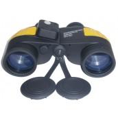 Купить Бинокль Navigator Marine WP с компасом Profi 7х50, желто-черный
