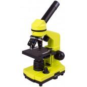 Купить Микроскоп Levenhuk (Левенгук) Rainbow 2L LimeЛайм