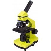 Купить Микроскоп Levenhuk (Левенгук) Rainbow 2L PLUS LimeЛайм