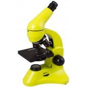 Купить Микроскоп Levenhuk (Левенгук) Rainbow 50L PLUS LimeЛайм